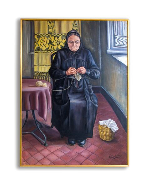 """La tia Marieta"" obra original de Angeles Santos Torroella (1911-2013) Beatriz Bálgoma, Madrid."