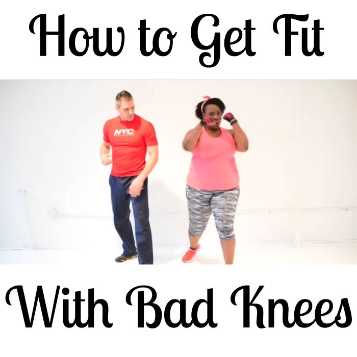 Free Workout Videos: How to Get Fit with Bad Knees! - Plus Size Princess