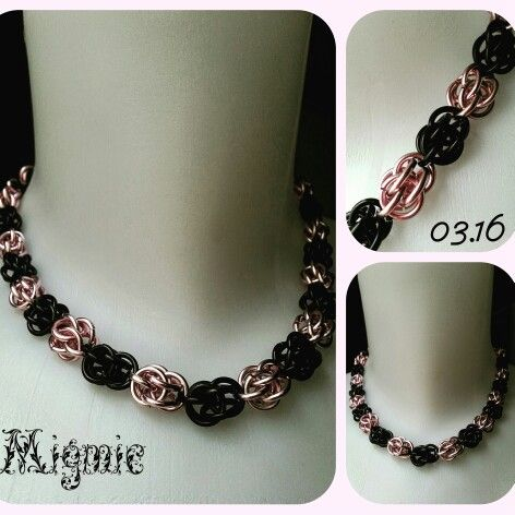 Sweetpea chainmaille