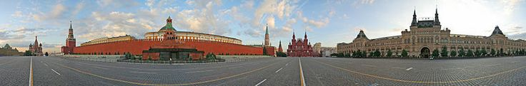 """Red Square does not originate from the pigment of the surrounding bricks neither from the link between the color red and communism, the name came from a Russian word красная (krasnaya) witch means either """"red"""" or """"beautiful"""""""