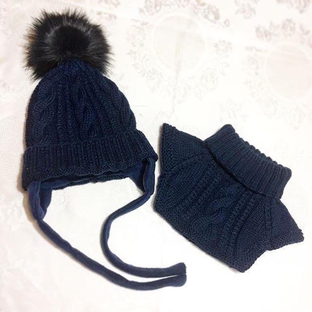 Комплект для мальчика 👍🏻👶🏼🚶🏼#вяжуслюбовью #вязаниеспицами #вязаниеназаказ #вязанаяшапка #вязанаяманишка