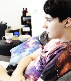 HEART-EYES HOWELL I REPEAT HEART-EYES HOWELL, AND HE THINKS HE DOESN'T HAVE A CHANCE OF GETTING A GIRLFRIEND