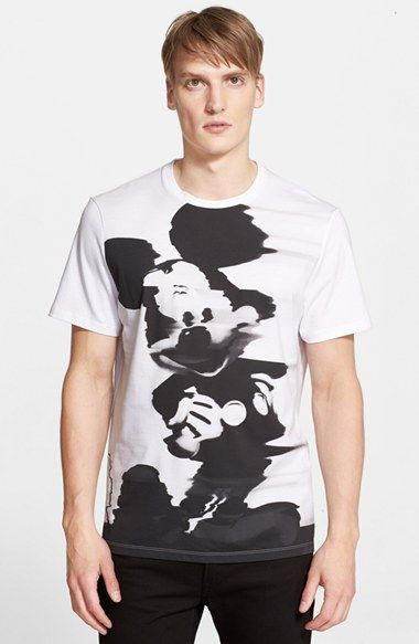 Neil+Barrett+'Trippy+Mickey'+Graphic+T-Shirt+available+at+#Nordstrom