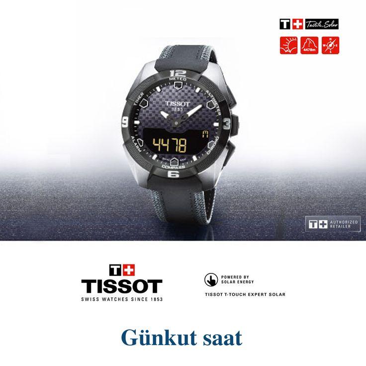 Zamanın değerini bilenler için… http://bit.ly/tissot-touch-saat