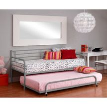 Walmart: Twin Trundle for Twin Daybed, Silver