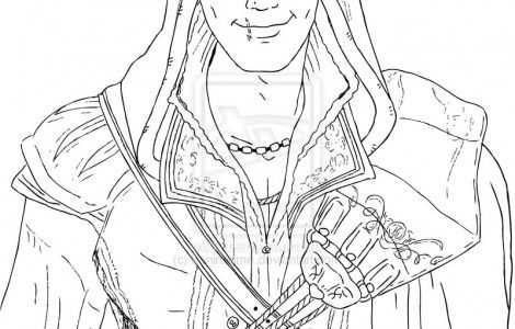Assassin Creed Colouring Pages