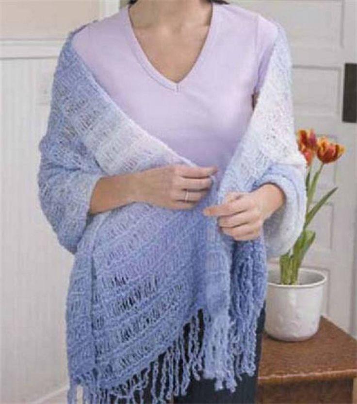 1 skein Sensations Rainbow Boucle Yarn Knitting needles ...