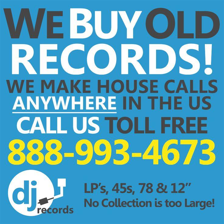 Sell #Vinyl Records, We Buy #VinylRecords https://djrecordsusa.com/