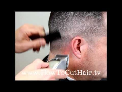 ▶ How To Cut A Military Fade - YouTube