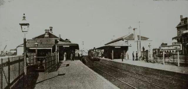 Parramatta Station in 1912.A♥W