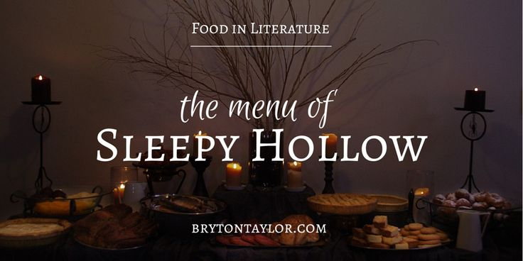 Throw a Legend of Sleepy Hollow Party; The Menu From The Book | Food in…