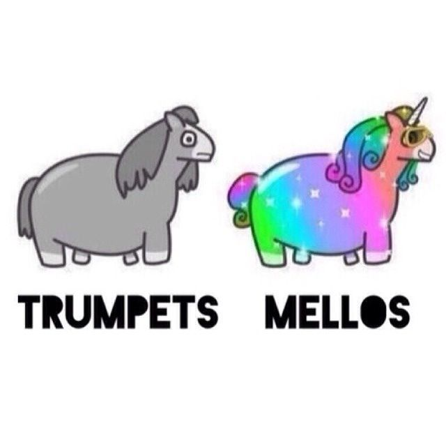 Leave the mellophones alone. We embrace our weirdness.