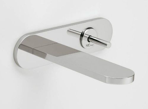 Waschtisch-Einhebelmischer / Wandmontage / aus Metall / für Badezimmer POP NIC Design