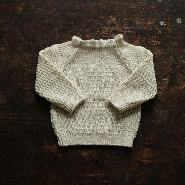Selana Organic Merino Sweater - Natural