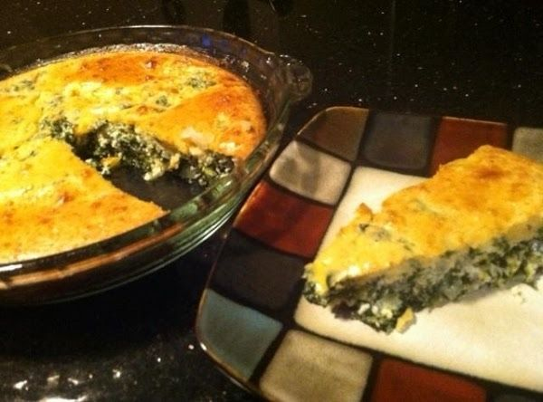 Impossible Spinach Pie...my Way Recipe