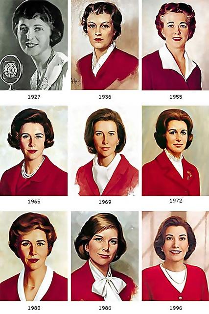 ... Betty Crocker thru the ages