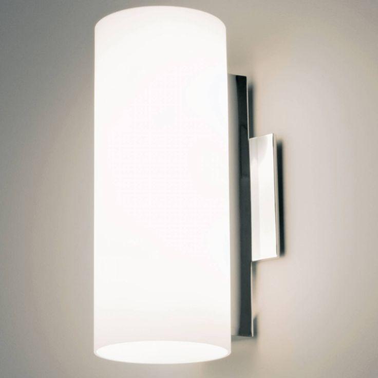 arandela RISE 1xbipino 18cm branco Bella VT2026P / dimensões: diâmetro 18 cm / IP20 área interna / metal cromado / vidro branco / para 1 lâmpada bipino halopin G9 pino largo /  lâmpada não inclusa / 1 ano de garantia / Bella / VT2026P