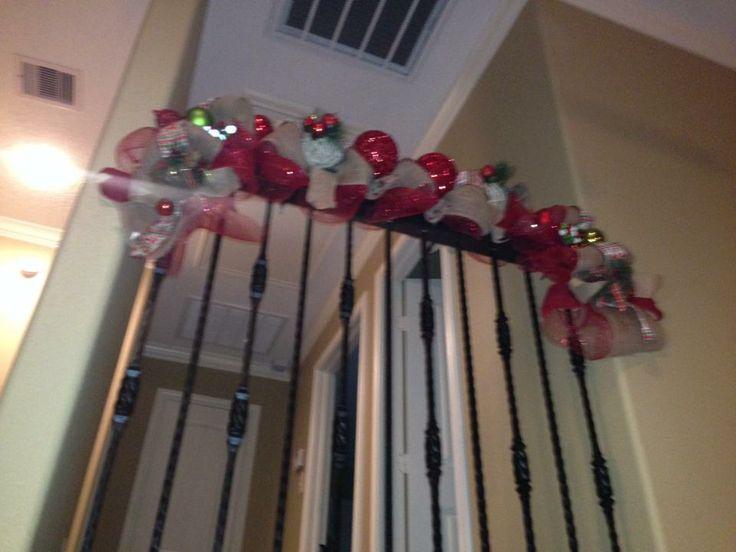 Stairway Garland/Deco Mesh