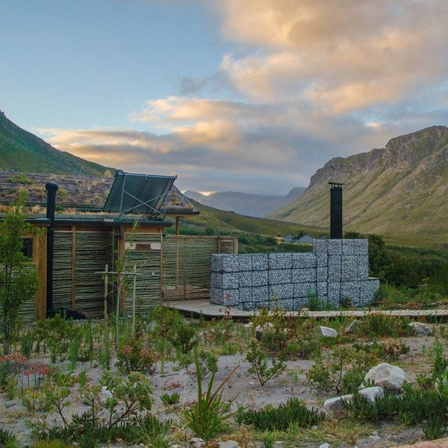 Old one of the Oudebosch eco-cabins at #kogelberg #overberg #discoveroverberg