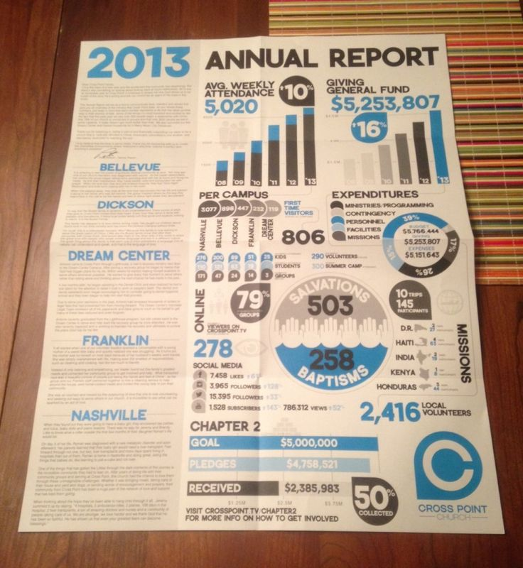 46 best Nonprofit Annual Report Infographics images on Pinterest - company annual report sample