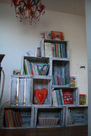 Déco... avant/après - La cuisine - Caisses à pommes! - La chambre de mon… - La salle - Les Hobbies de Cendrine.
