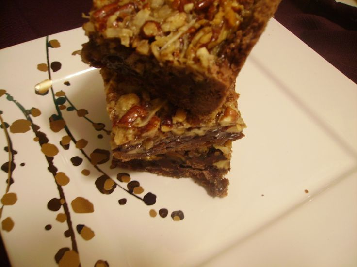 ... on Pinterest | Caramel rolls, Pecan pie bars and Banana bread brownies