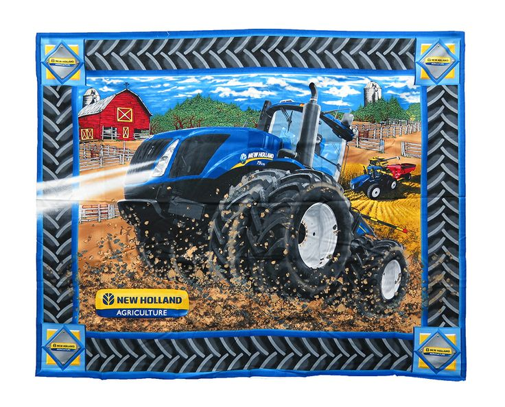 New Holland Tractor Fabric : Best images about tractor quilts on pinterest