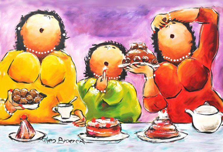 Theo Broeren - Aan de taart
