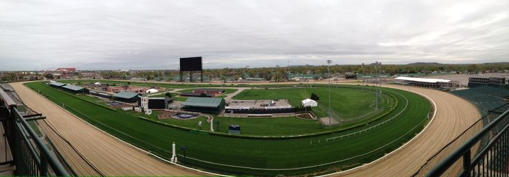 Churchhill Downs 2015....from the suites.