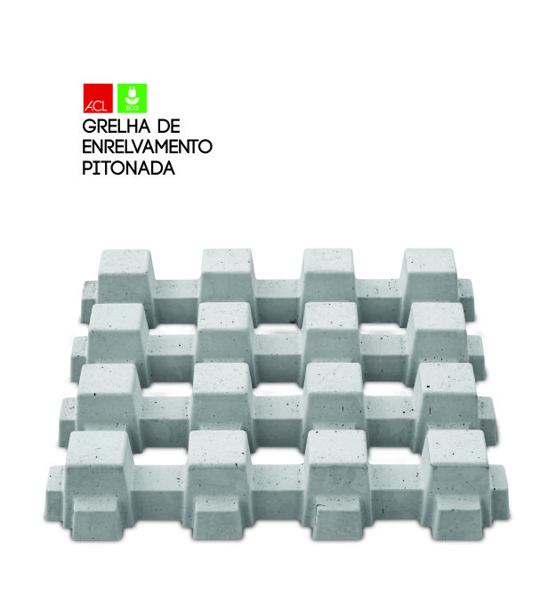 ECO Grelha de Enrelvamento Pitonada l  Studded Green Cover Grids #acl #acimenteiradolouro #eco #ecologic #green #garden