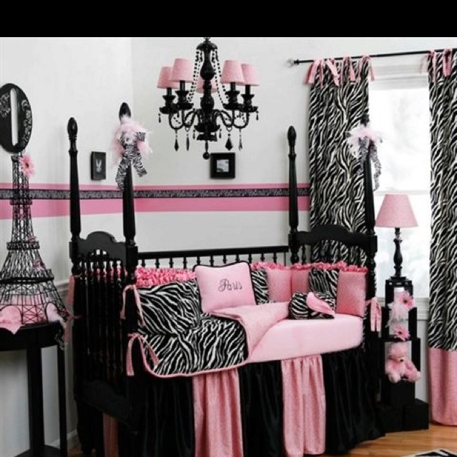 im really not sure about black for a baby nursery but i love