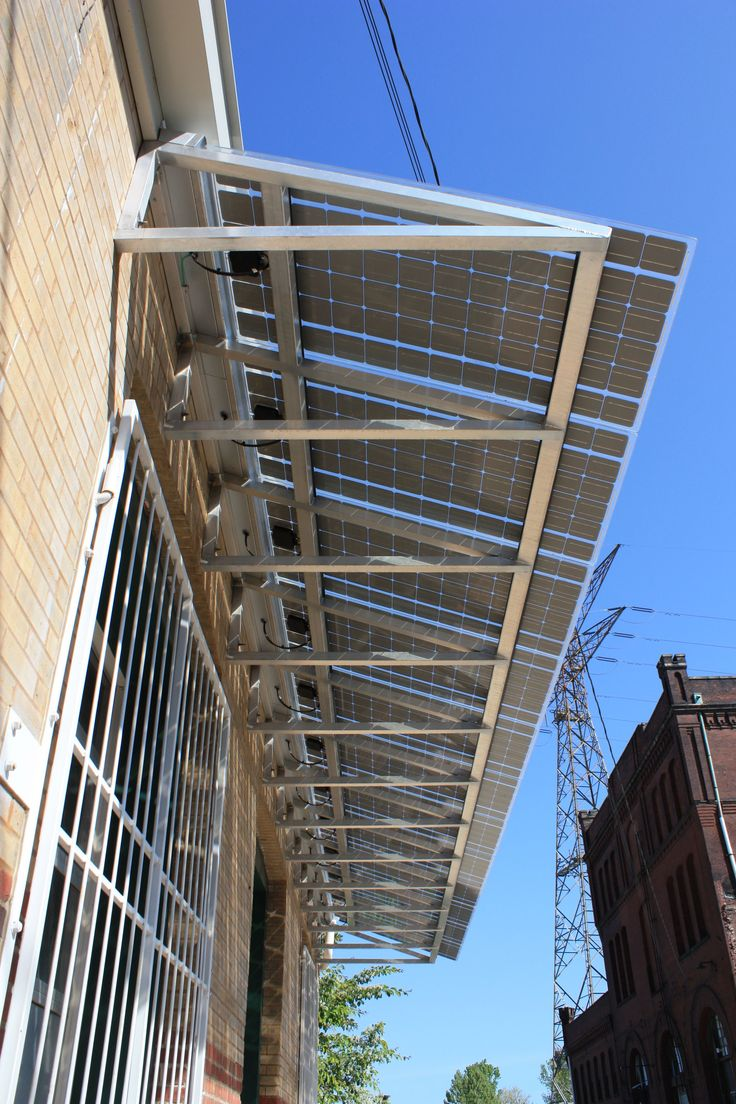 William A. Kerr Foundation - St. Louis, MO  Solar Awnings and new Vertical Axis Turbine