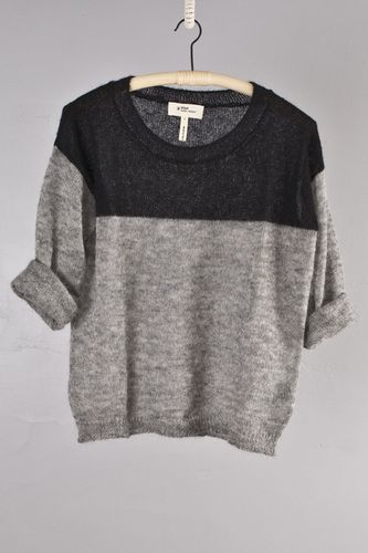 Isabel Marant Sweater: Cute Sweaters, The Angel, Clothing Design, Boutiques Shops, Gray Sweater, Isabel Marant, Marant Sweaters, Black Sweaters, Colors Blocks