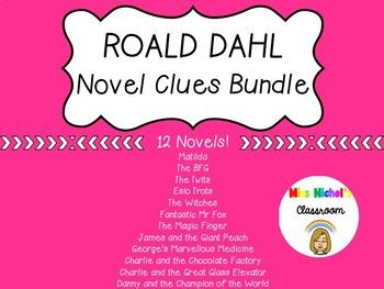 This product is perfect for anyone wanting to engage their students in reading! Reveal a Roald Dahl novel as your classroom shared reading book through the game 'pass the parcel'. Wrap up the book, print out these clues and attach a clue to each layer