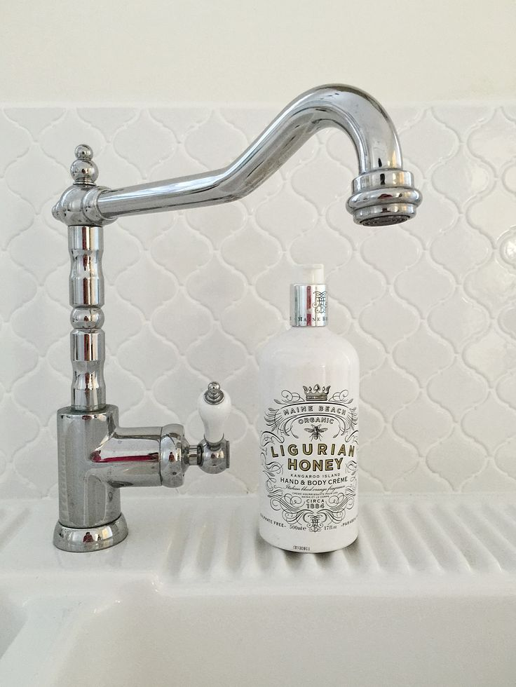 Ligurian hand and body wash | Cocco (oh the tap!) #bathroom #tap #style