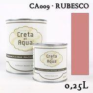 Werkelijk een schitterende kleur van Creta et Aqua .Krijtverf in de kleur  Oud Roze, verven zonder schuren.