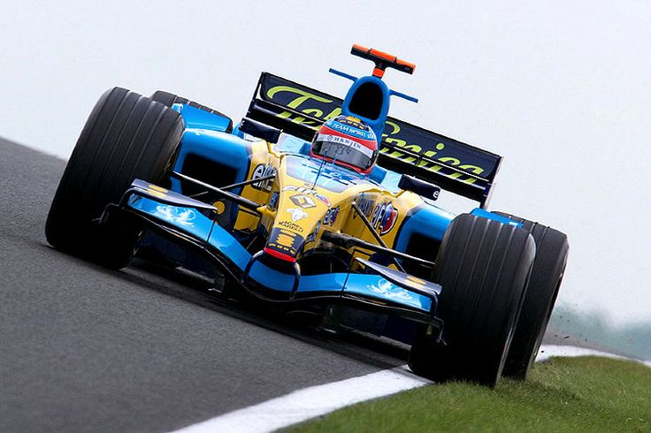 Fernando Alonso  Renault  2005 - Good times, great memories!