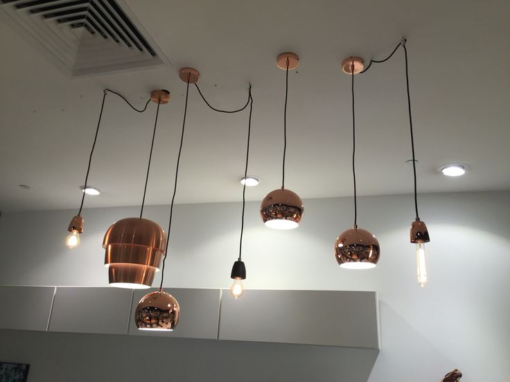 Varying pendant lamps by boconcept