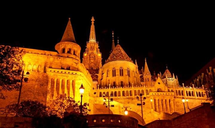 Detail of Buda Castle. Photo by David Lam