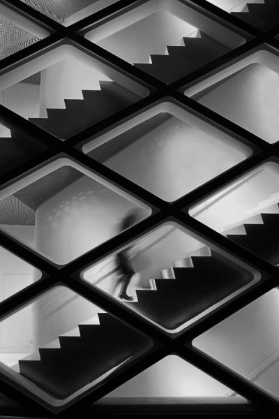 Stairs: Amazing Photography, Black And White, Art Photography, Prada Stores, Architecture Ideas, Stores Tokyo, Architecture Photography, Prada Building, Prada Tokyo
