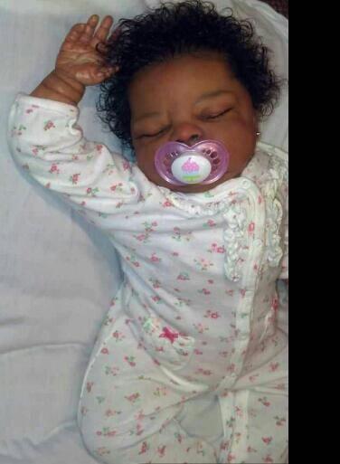 Pretty Lil Black Baby Doll