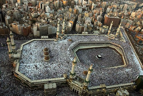 during Hajj....wow
