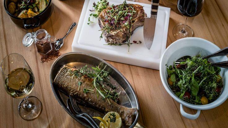 Das Fisch und Steak Restaurant in München: Westend Factory