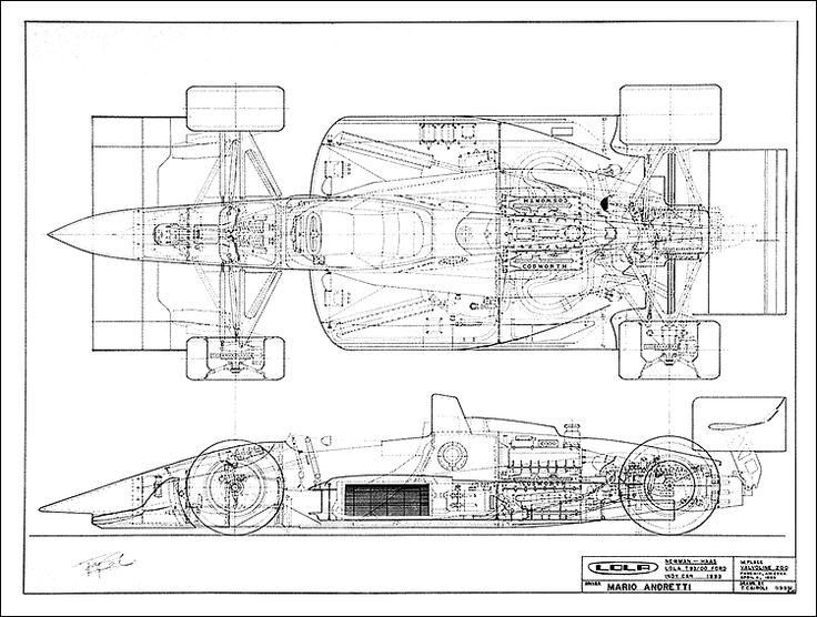 51 besten Race Car Blueprints Bilder auf Pinterest | Autos, Cutaway ...