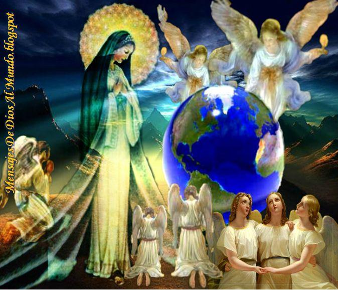 Mensajes De Dios Al Mundo: VIVENCIA MÍSTICA DE LUZ DE MARÍA CON LA SANTÍSIMA ...