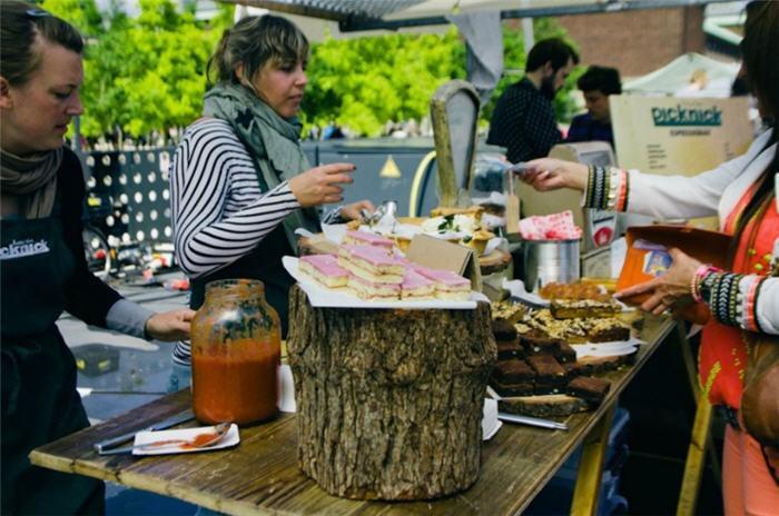 Swan Market Rotterdam - Evenementen in Rotterdam - speciale food-editie tijdens World Food Festival