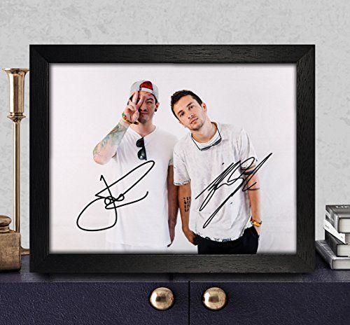 Tyler Joseph Amp Josh Dun Signed Autographed Photo 8x10