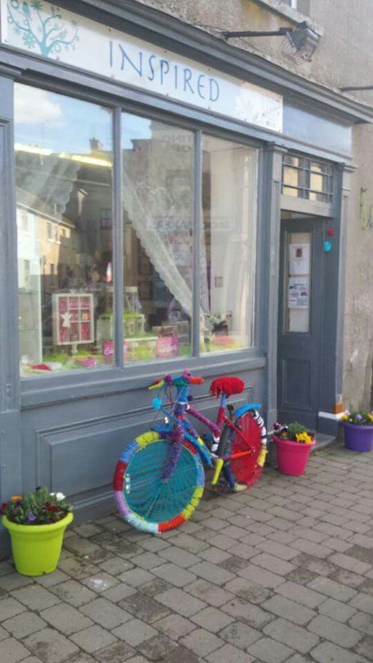 INSPIRED Craft Shop on Connaught Street in Birr.
