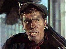 Dick Van Dyke as chimney sweep in Mary Poppins, 1964