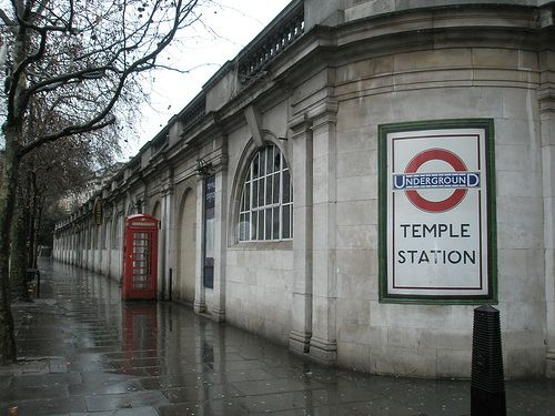 London Underground - Temple Station